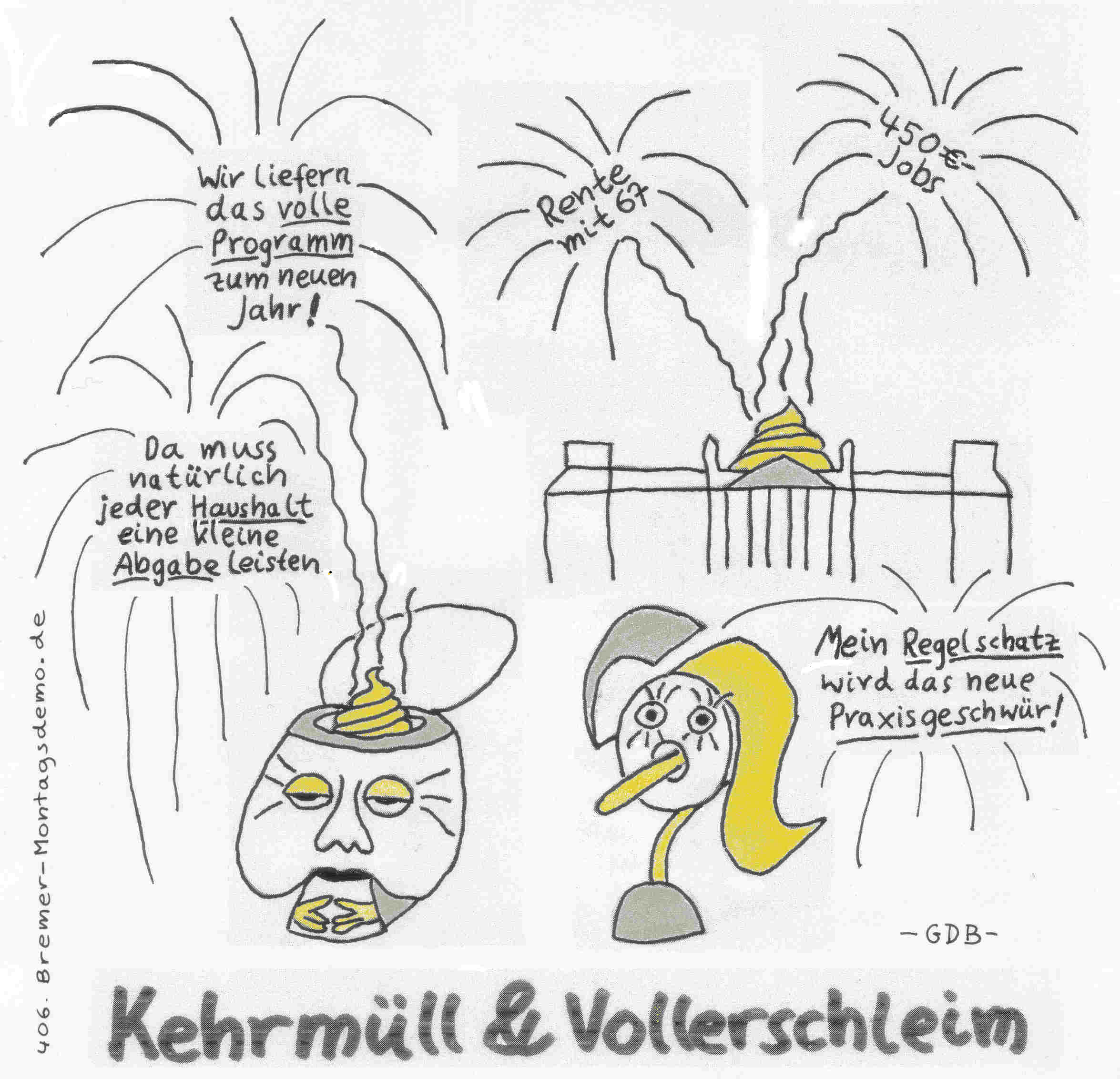 Initiative Bremer Montagsdemo: REDEBUCH 2013